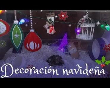 Decoración Navideña Jaula Hamster - decoracion navidena jaula hamster