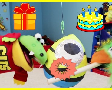HAPPY BIRTHDAY Pretend Play Toys and Play Party Games! - happy birthday pretend play toys and play party games