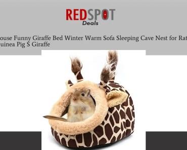 Discount Hamster House Funny Giraffe Bed Winter Warm Sofa Sleeping Cave Nest for Rat Hedgehog Sq - discount hamster house funny giraffe bed winter warm sofa sleeping cave nest for rat hedgehog sq