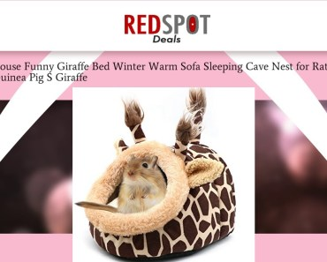 Hamster House Funny Giraffe Bed Winter Warm Sofa Sleeping Cave Nest for Rat Hedgehog Squi Review - hamster house funny giraffe bed winter warm sofa sleeping cave nest for rat hedgehog squi review