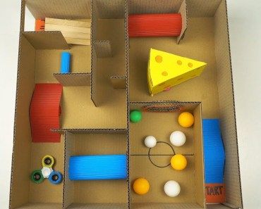 How to Make Labyrinth Game for Hamster and Pet Rat - how to make labyrinth game for hamster and pet rat
