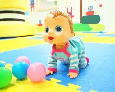 Little baby doll and funny kid taking care indoor playground Kids video - little baby doll and funny kid taking care indoor playground kids video