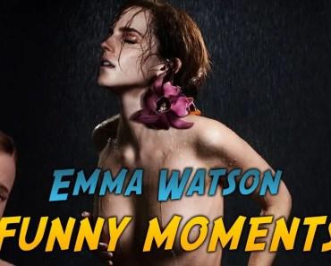 Emma Watson - FUNNY MOMENTS - emma watson funny moments