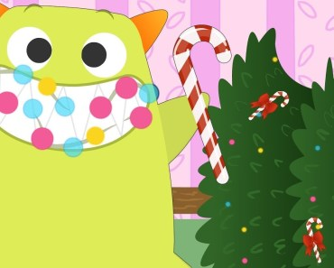 Gummy Monsters Funny | Candy canes tree with Papoto, Bobobom and Numinul | Funny Cartoon for kids - gummy monsters funny candy canes tree with papoto bobobom and numinul funny cartoon for kids