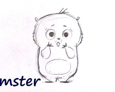 How to Draw a Cute Hamsterl - Step by Step for Beginners - how to draw a cute hamsterl step by step for beginners