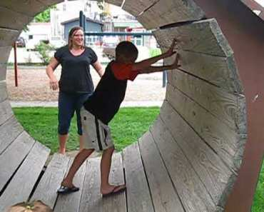 Petersen Family Logan in the hamster wheel - petersen family logan in the hamster wheel