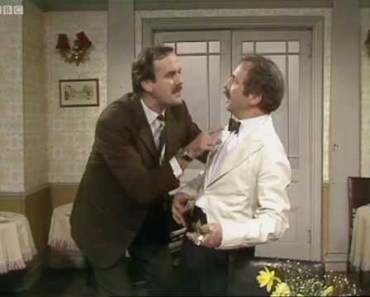 I Know Nothing! - Fawlty Towers - BBC - i know nothing fawlty towers bbc