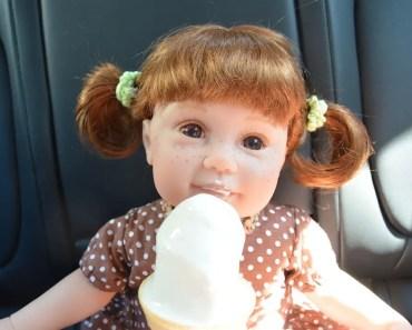 Reborn Outing For McDonalds Ice Cream! - reborn outing for mcdonalds ice cream