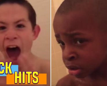 Caught Singing In The Shower! - caught singing in the shower