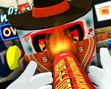 Job Simulator VR - DESTROYING The Criminal With FIREWORKS! - Part 4 - job simulator vr destroying the criminal with fireworks part 4