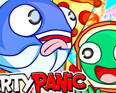 GIVE US ALL THE PIZZA in Party Panic! (Funny Moments) - give us all the pizza in party panic funny moments