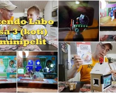Nintendo Labo - osa 3 (koti ja minipelit) - nintendo labo osa 3 koti ja minipelit