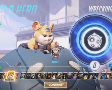 Overwatch - HERO 28 GAMEPLAY!!! [ ALL ABILITIES ] Hammond the Wrecking Ball Hamster! - overwatch hero 28 gameplay all abilities hammond the wrecking ball hamster