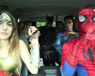 Super Hero Carpool Ride - super hero carpool ride