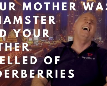 Your mother was a hamster and your father smelled of elderberries - your mother was a hamster and your father smelled of elderberries