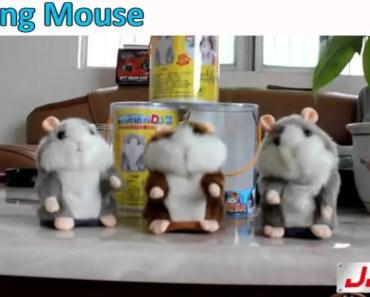 DJ Mouse Talking Hamster Electronic Toys Repeat Any Language - dj mouse talking hamster electronic toys repeat any language