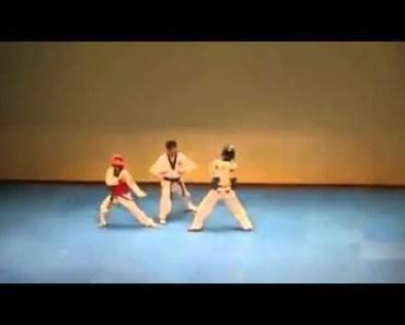 [ Funny Dance 2014 ] - Taekwondo Match Turns Into Dance Battle - funny dance 2014 taekwondo match turns into dance battle