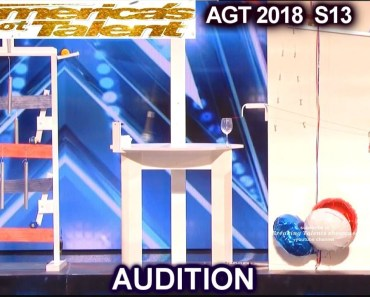Hamster Wheel with Their Awesome Machine / Device America's Got Talent 2018 Audition AGT - hamster wheel with their awesome machine device americas got talent 2018 audition agt