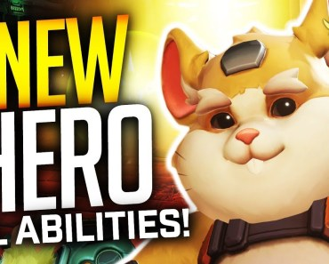 Overwatch - WRECKING BALL! (HAMMOND) Gameplay! ALL ABILITIES! - overwatch wrecking ball hammond gameplay all abilities