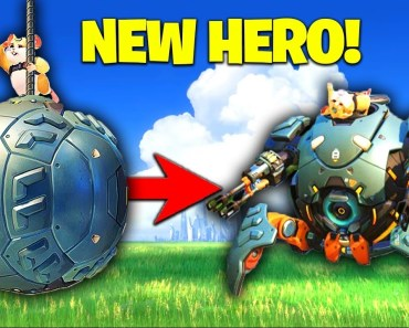 Muselk Plays The *NEW HERO* WRECKING BALL! [Overwatch] - muselk plays the new hero wrecking ball overwatch