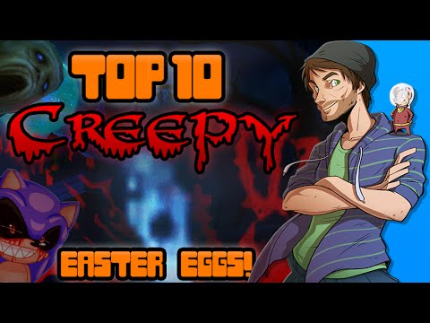 Top 10 Creepy Easter Eggs in Video Games! - Spacehamster - Hamster