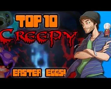 Top 10 Creepy Easter Eggs in Video Games! - Spacehamster - top 10 creepy easter eggs in video games spacehamster
