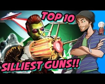 Top 10 Silliest Guns in Video Games - SpaceHamster - top 10 silliest guns in video games spacehamster