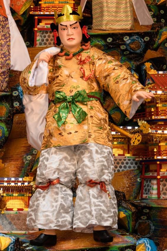 博多リバレイン・飾り山笠見送りの写真
