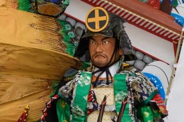 中洲流・飾り山笠見送りの写真