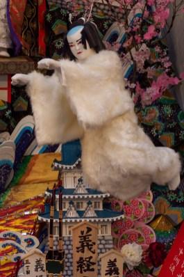 中洲流・飾り山笠の写真