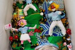 福岡ドーム・飾り山笠の写真