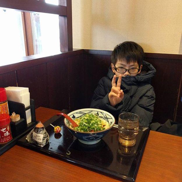 お昼は丸亀製麺で。暖まりました。