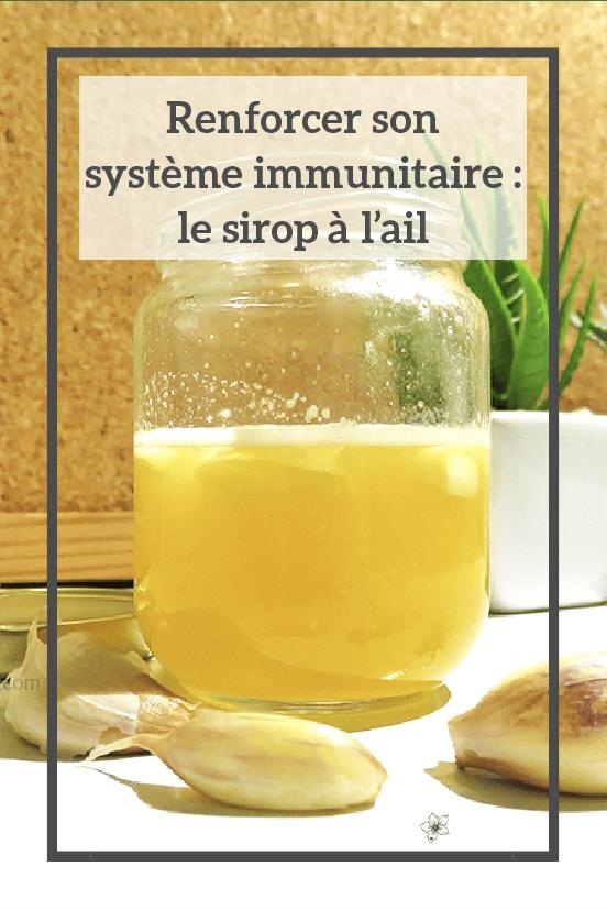Sirop pour renforcer les défenses immunitaires