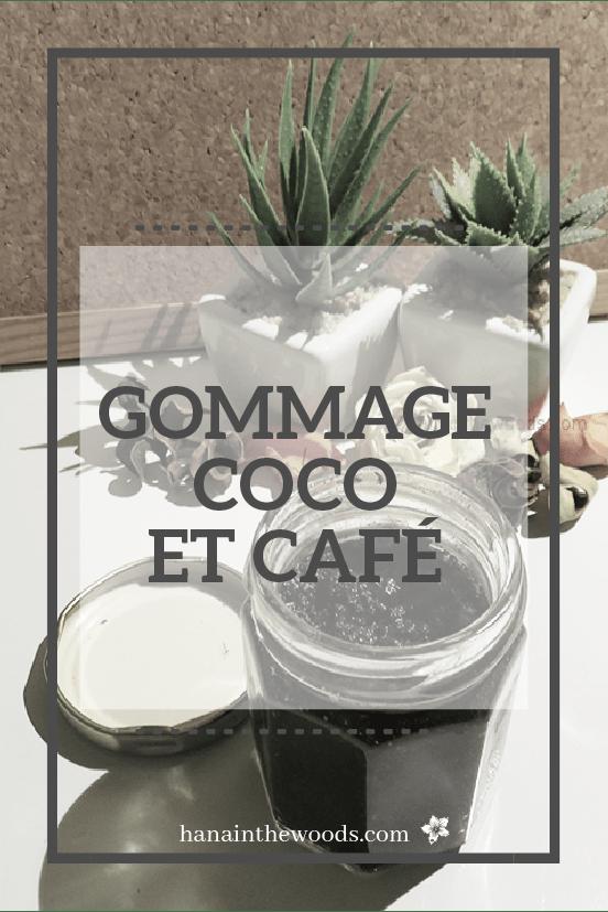 Gommage coco café