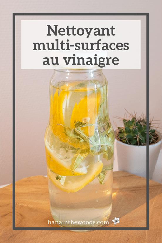Nettoyant multi-surfaces au vinaigre