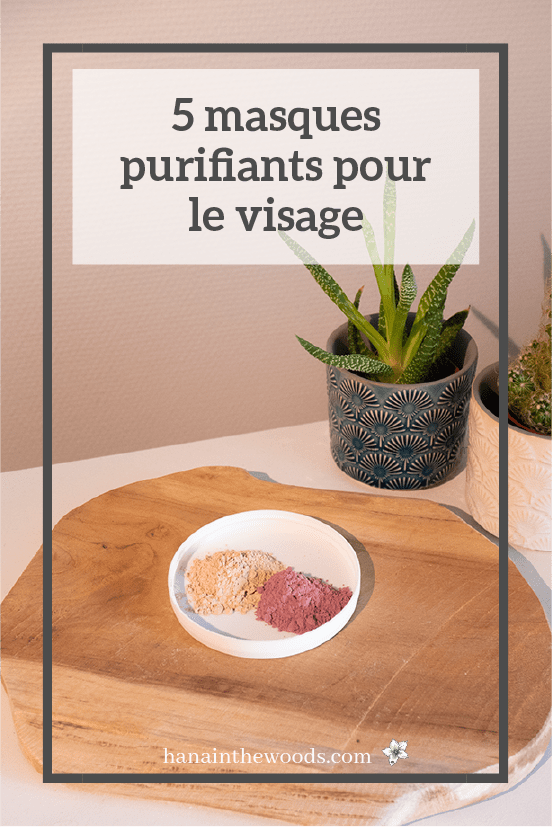 DIY : masques purifiants pour le visage