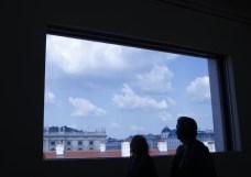 展望できる窓@レオポルド美術館