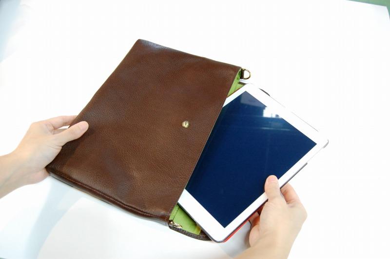 クラッチバッグ/iPad