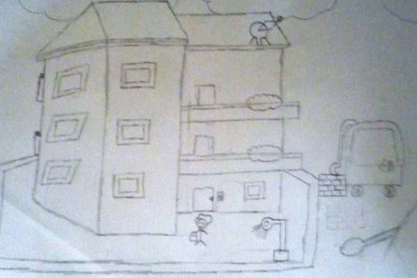 Hanan Foundation Mohammed Nadeem Al Sakal drawing
