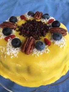 レモンフロスティングケーキ
