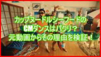 カップヌードルシーフードのCMダンスはパクリ?元動画からその理由を検証!4