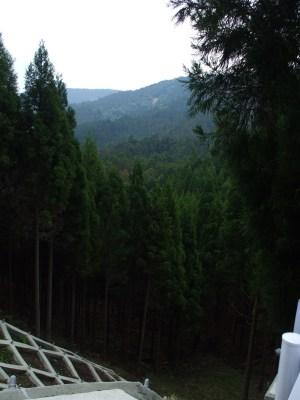 High above Hanase
