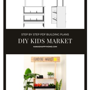 Kids market stand building guide