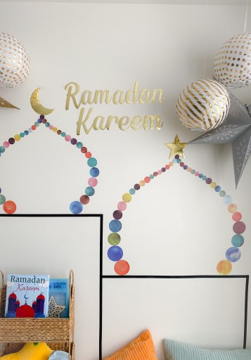 Ramadan crafts and decorations for kids