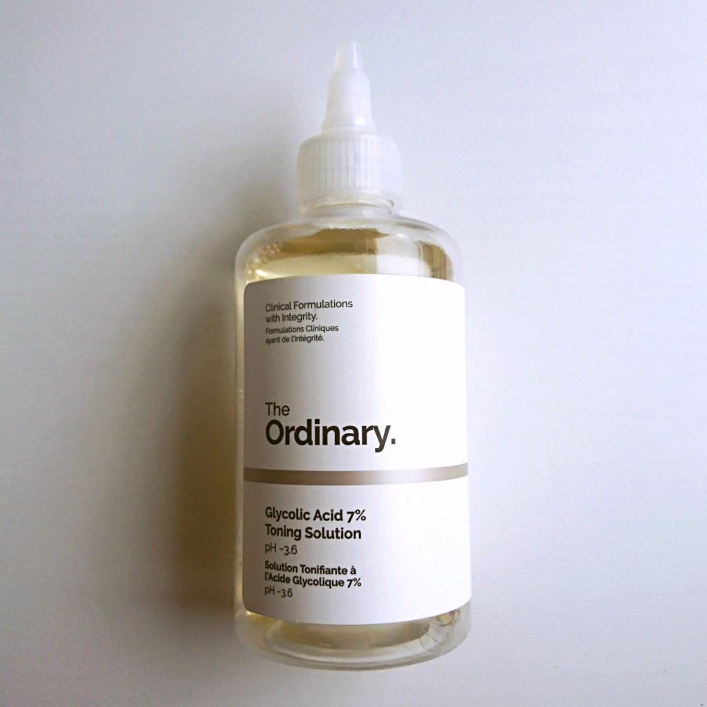 グリコール酸7% Glycolic Acid 7% Toning Solution The Ordinary