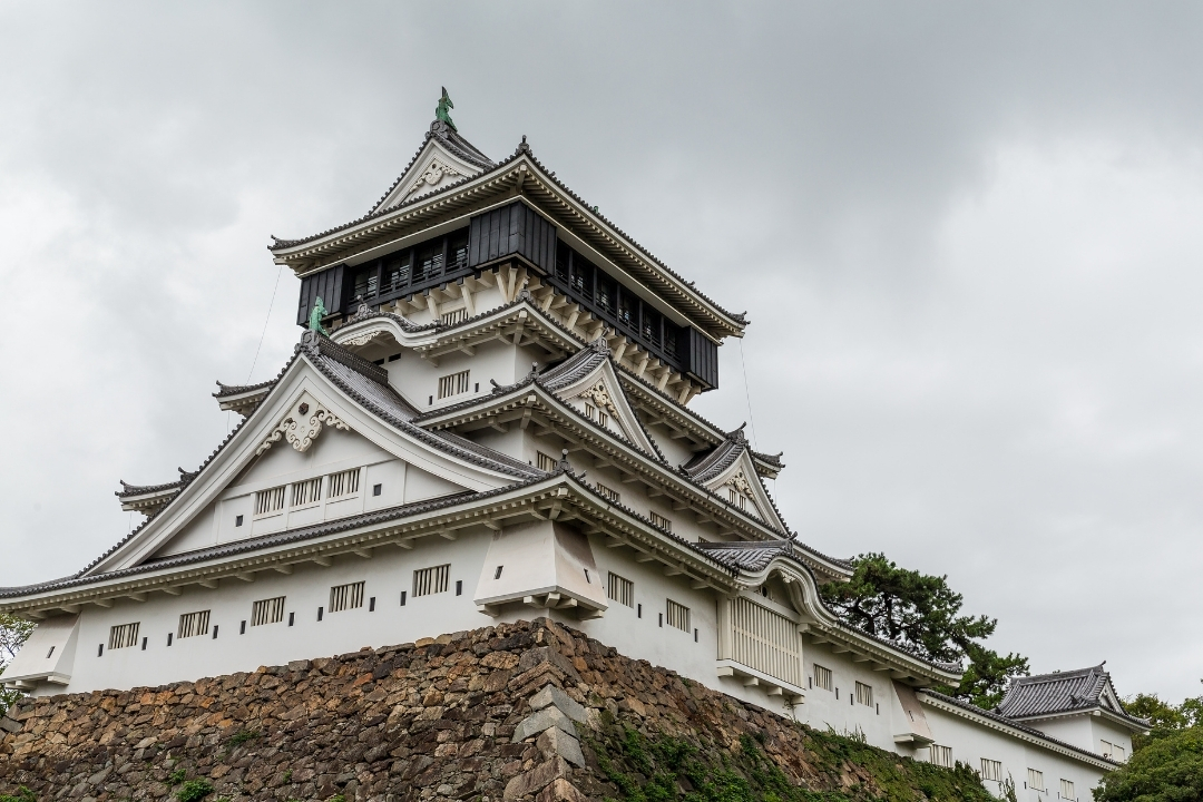 Kokura Castle in Japan, Fukuoka (Canva)