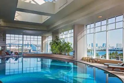 Pool Hilton Tokyo Odaiba (3.2)