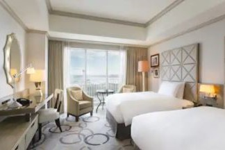Twin Hilton Room Hilton Tokyo Odaiba (3.2)