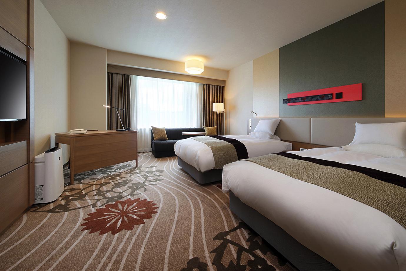 Hotel Metropolitan Yamagata (web) Twin Concept Floor