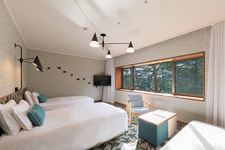 Prince Hotel Karuizawa East (web) Forest Twin Room